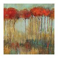 In the Middle of a Forest Giclee Canvas Art Print