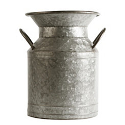 Double Handle Galvanized Jug