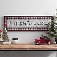 Hark The Herald Angels Sing Framed Art
