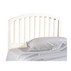Cora White Wood Twin Headboard