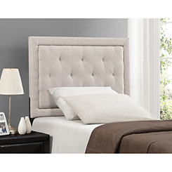 Beckett Cream Tufted Twin Headboard