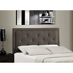 Beckett Dark Heather Tufted Twin Headboard