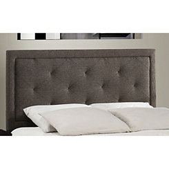 Beckett Dark Heather Tufted Full Headboard