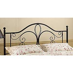Meredith Bronze Metal Scroll Full/Queen Headboard