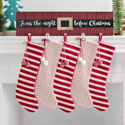 Twas the Night Wooden Mantel Stocking Holder