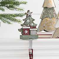 Christmas Tree Mantel Stocking Holder