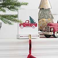 Truck Block Mantel Stocking Holder