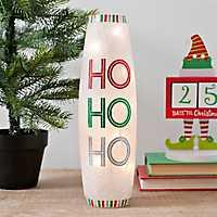 Pre-Lit Ho Ho Ho Christmas Hurricane