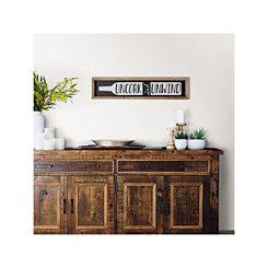 Marlen Uncork and Unwind Framed Wall Plaque