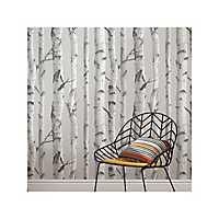 Gray Mountain Birch Peel and Stick Wallpaper