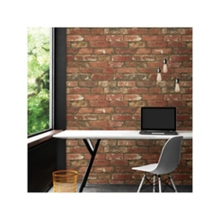 West End Brick Peel and Stick Wallpaper