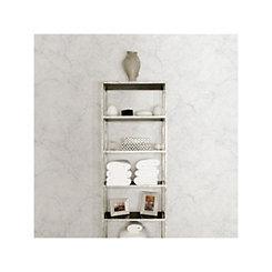 Carrara Marble Wall Peel and Stick Wallpaper