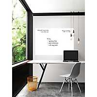 White Giant Dry Erase Wall Decal