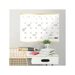 Gold Vogue Monthly Calendar Wall Decal Set