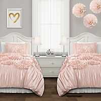 Pink Serena 2-pc. Twin XL Comforter Set