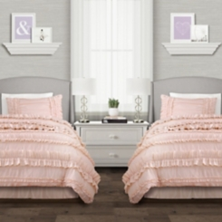 Blush Belle 3-pc. Twin XL Comforter Set