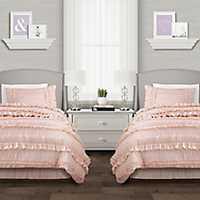Blush Belle 4-pc. Full/Queen Comforter Set