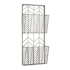 Open 2-Tier Metal Wall Storage