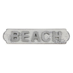 Wooden with Pop Out Letters Beach Wall Plaque