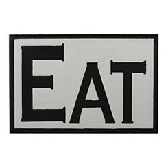 Eat Wooden Wall Plaque