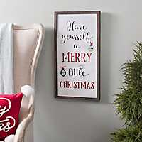 Have Yourself a Merry Christmas Framed Plaque