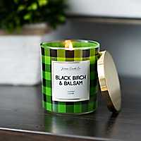 Black Birch and Balsam Jar Candle