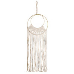 Macrame Ring Dream Catcher