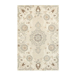 Neutral Crady Medallion Area Rug, 8x10
