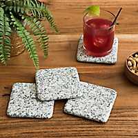 Gray Granite Coasters, Set of 4