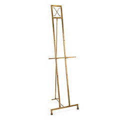 Brushed Gold Jamye Floor Easel