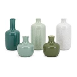 Green Julian Mini Bottles, Set of 5