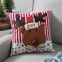 Reindeer Character 3D Pillow