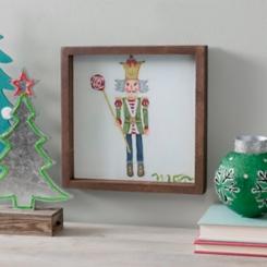 Toy Soldier Man Framed Canvas Art Print