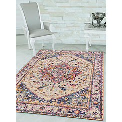 Multicolor Ababa Zoie Oversized Area Rug, 13x15