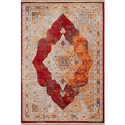 Garnet Monet Monegasque Area Rug, 8x11