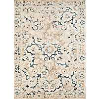 Linen Carver Oversized Area Rug, 10x13