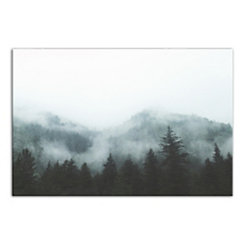 Mountain Haze Photography Canvas Art Print