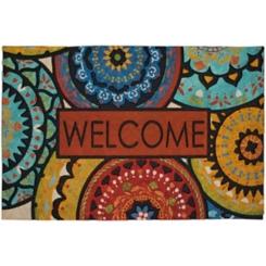 Spanish Suzani Welcome Doormat