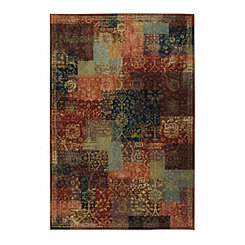 Sinja Polyester Woven Area Rug, 5x8