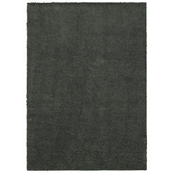 Gray Willow Shag Area Rug, 7x10