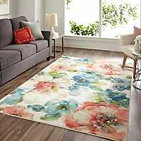 Summer Bloom Area Rug, 8x10
