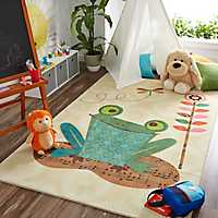Frog Patch Area Rug, 5x8