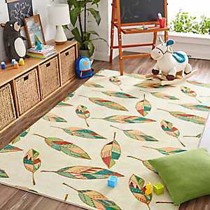 Southwest Feathers Area Rug, 5x8