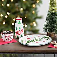 Cookies for Santa Tableware, Set of 3