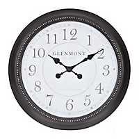Emma Oil Rubbed Bronze Bead Wall Clock
