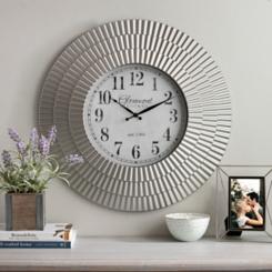 Emma Champagne Wall Clock