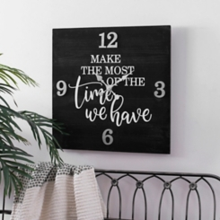 Make the Most of the Time We Have Wall Clock