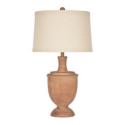 Table lamps glass table lamps kirklands savy distressed brown urn table lamp aloadofball Images