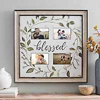 Blessed Wreath 4-Opening Collage Frame