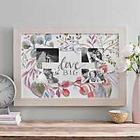 Love Big Botanical 4-Opening Collage Frame